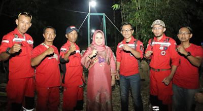 Relawan Vertical Rescue Indonesia (VRI) Lampung Tuntaskan Jembatan Gantung Darurat Sederhana ke-9 Bersama Warga Gedongtataan