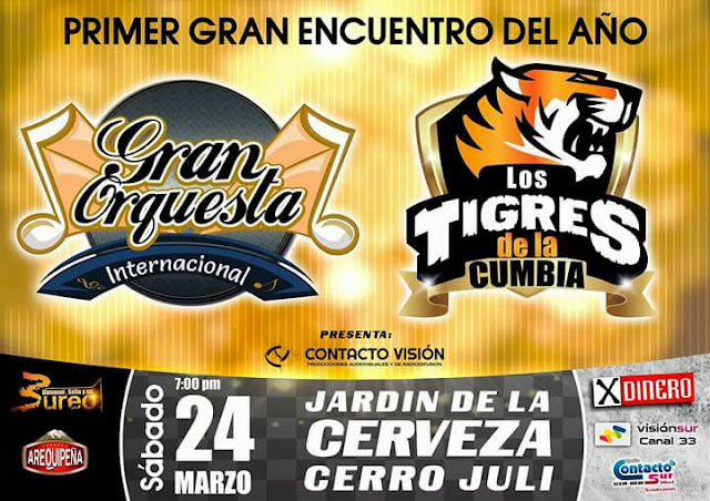 Gran Orquesta vs Los Tigres de la cumbia