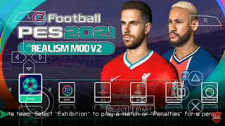 Download PES 2021 PPSSPP Android Realism Mod V2 Best Graphics HD Real Face & Full Transfer