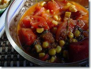 Mealie Potjiekos is a delicious corn stew.
