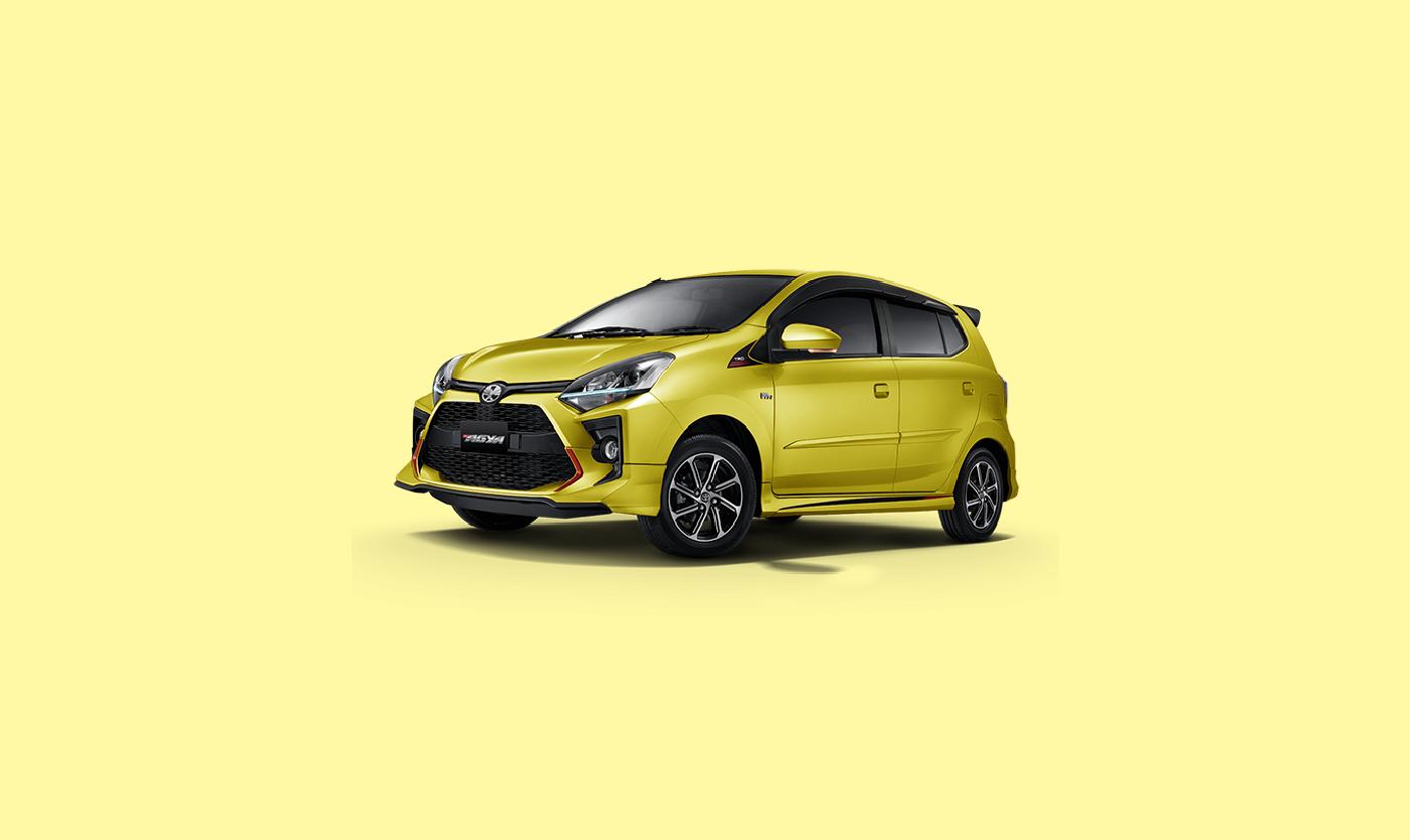 Toyota Agya Kuning