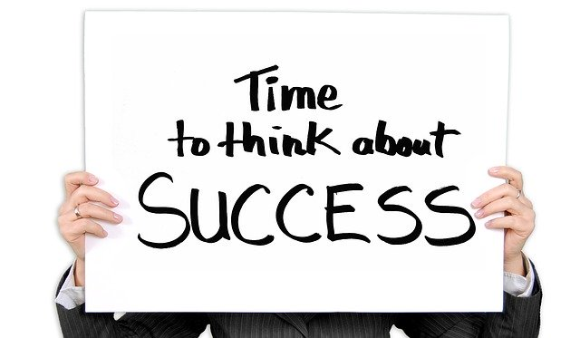 Think about success