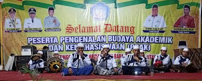 Batubara Bersholawat di Kampus Sekolah Tinggi Ilmu Tarbiyah