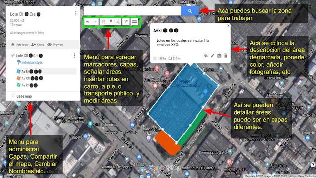 mapas personalizados en google