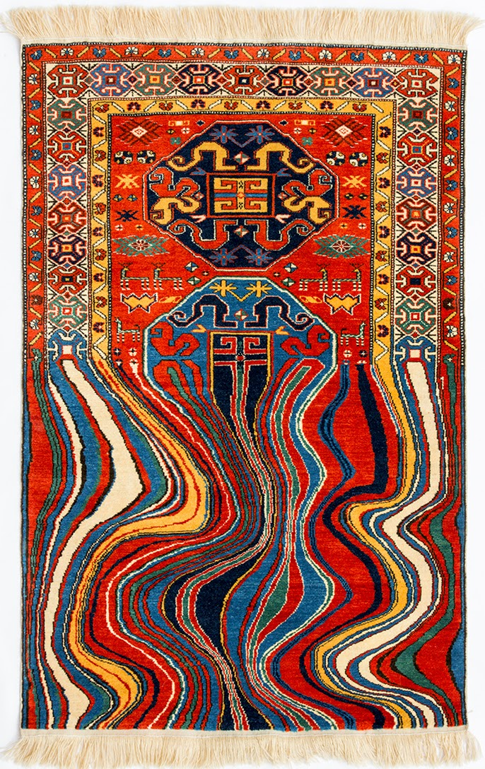 Carpet Art by Faig Ahmed