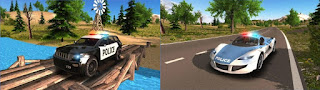 Free Download Police Car Driving Offroad Android game