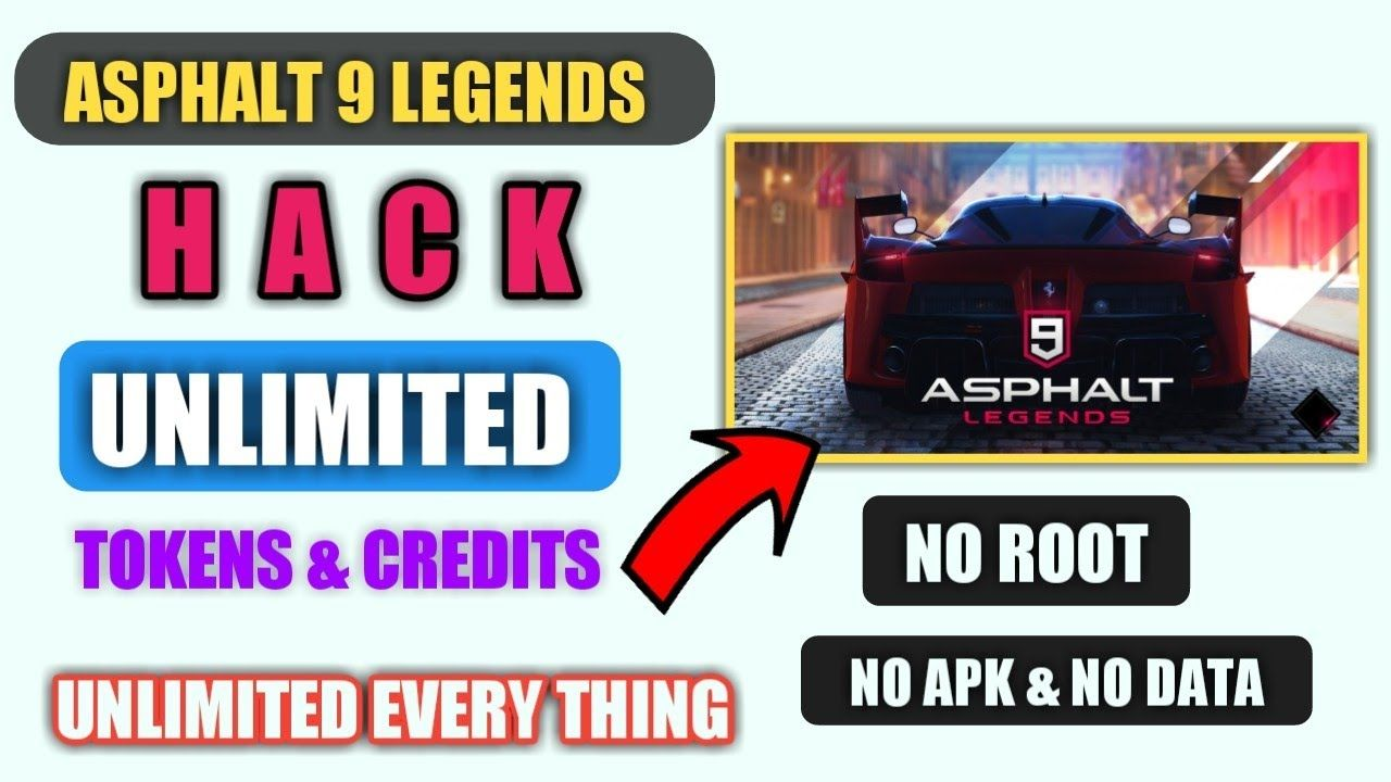 Claim Asphalt 9 Legends Unlimited Tokens and Credits For Free! 100% Working [December 2020]