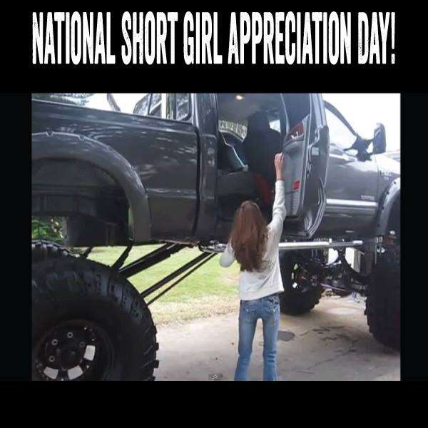 National Short Girl Appreciation Day Wishes Images