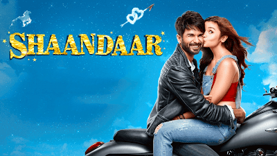 Shaandaar 2015 Movie In Shahid Kapoor And Alia Bhatt Kiss Picture
