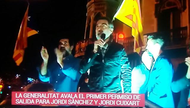 """La Generalitat avala el primer permiso de salida de 48 horas para """"los Jordis"""""""