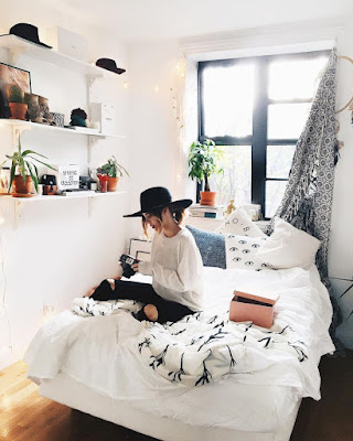 Comfortable minimalist dorm room ideas