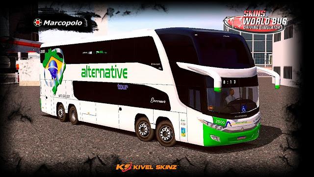 PARADISO G7 1800 DD 8X2 - VIAÇÃO ALTERNATIVE TOUR
