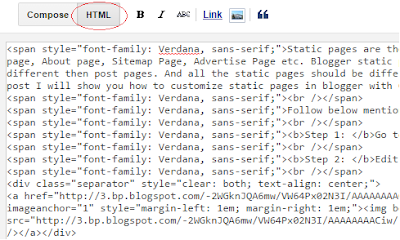 customize-blogger-static-pages-with-css