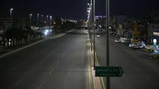 malam di arab saudi sepi