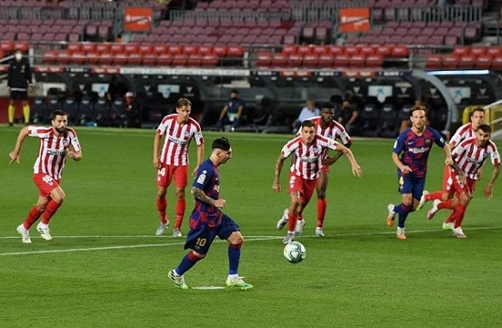 نتيجة مباراة برشلونة ضد أتلتيكو مدريد 30-6-2020