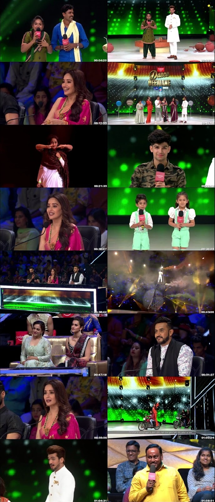 Screenshots Of Hindi Show Dance Deewane 2 10th August 2019 Episode 17 300MB 480P HD