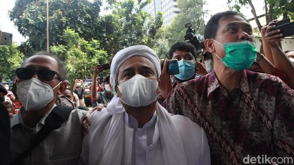 Hakim Sempat Beri Opsi ke Habib Rizieq untuk Minta Pengampunan ke Jokowi