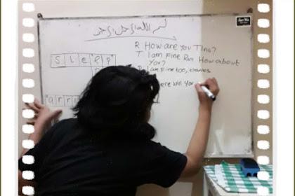Review Les Privat Bahasa Inggris Bersama Kak Rasyid dari Raisa