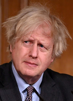 Boris looking scruffy