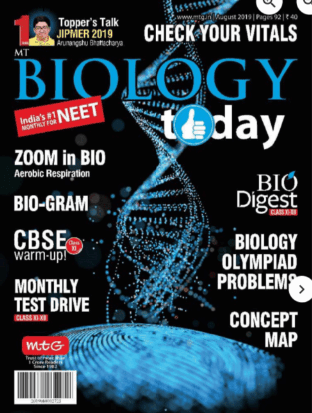 Biology-Magazine-August-2019-For-NEET-Exam-PDF-Book