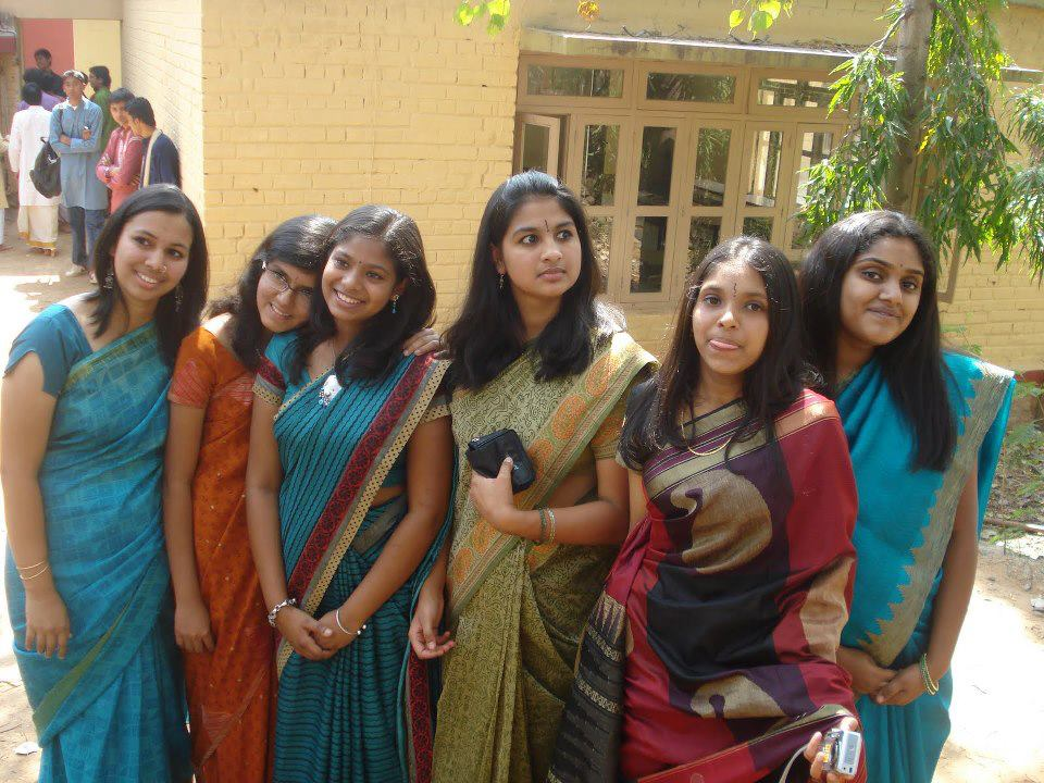 Homely Indian Girls Homely Tamil Girls In Saree-1395