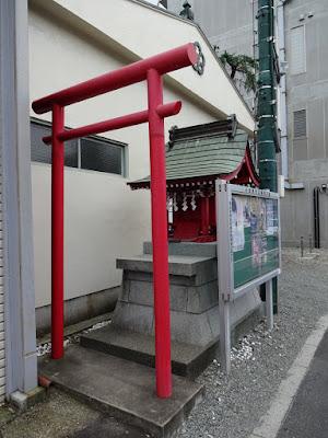 相模の社を巡る: 「竹の花稲荷神社」(小田原市栄町)