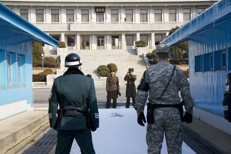 Demilitarized Zone (4 km zone between South and North Korea)