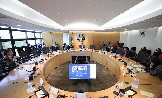 La Junta de Coordinación Política aprobó plantear tres sesiones semipresenciales para esta semana