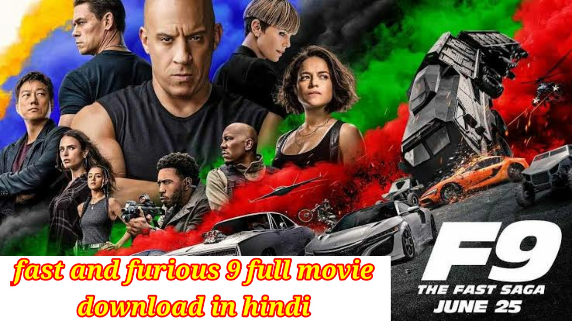 fast and furious 9 full movie download in hindi 720p moviesflix