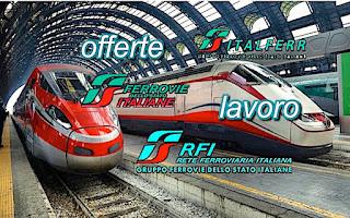 Lavoro Trenitalia, RFI, Italferr - adessolavoro.blogspot.com