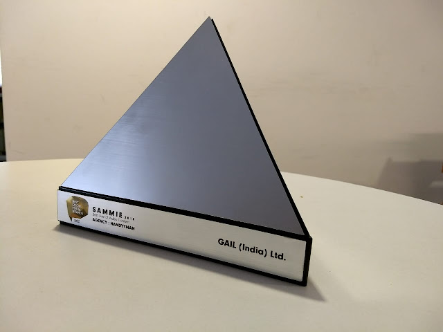 GAIL Wins 'Silver Award' at the Prestigious Best Social Media Brands SAMMIE Award 2018
