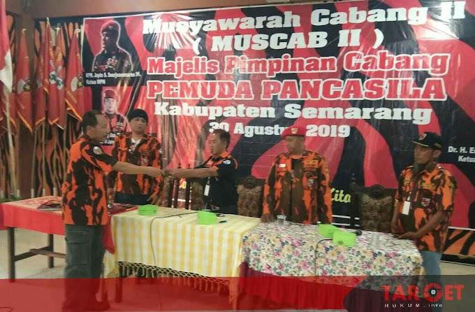 Dr. H Endar Susilo SH MH Secara Aklamasi Terpilih Kembali Menjadi Ketua MPC Pemuda Pancasila Kab. Semarang