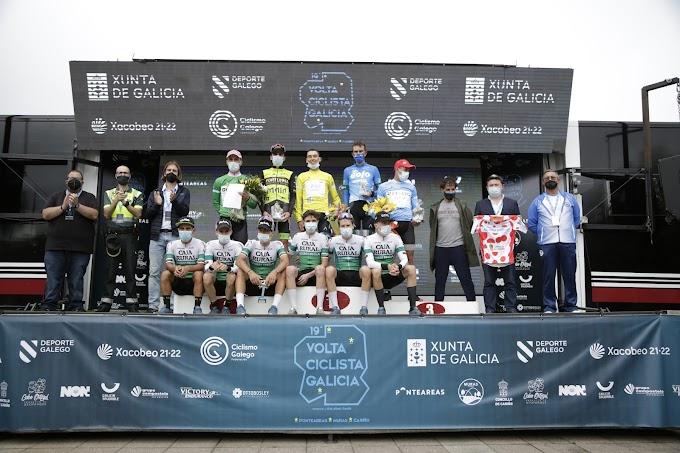 Triunfo final de Alex Martín en la Volta Ciclista a Galicia y exhibición de Patrick Videira en Cariño