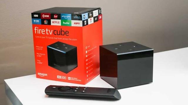 FIRE TV CUBEAVEC  ALEXA  4K Ultra HD  LA TELEVISION A MAINS LIBRES