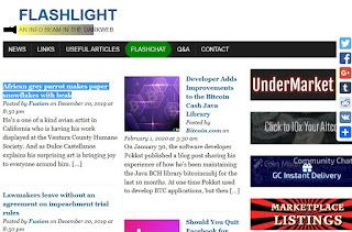 Flashlight blog - Secrets deep web