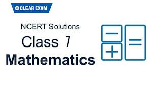 NCERT Solutions Class 7 Mathematics