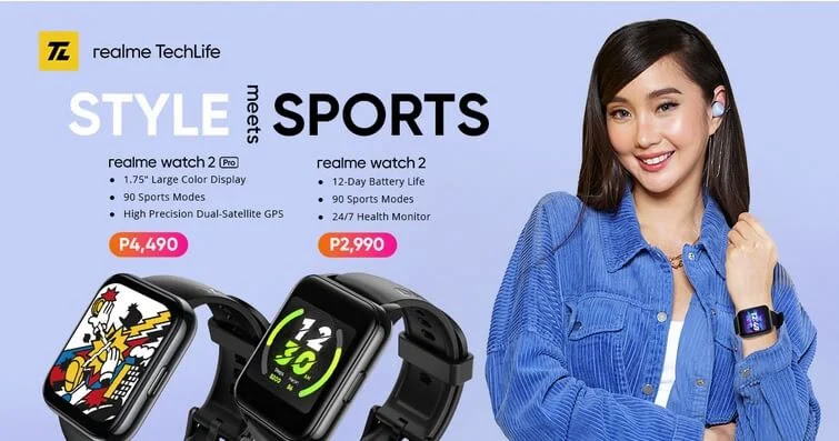 realme Introduces the Watch 2 Series; Price Starts at Php2,990