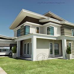 25 Unik Bentuk Rumah 2 Tingkat Design Info On The Web