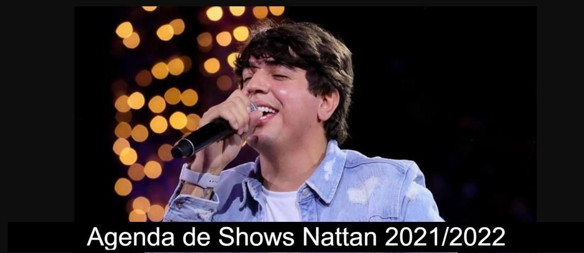 Agenda Nathan (Nathanzinho) 2021/2022 - Próximos Shows Cantor