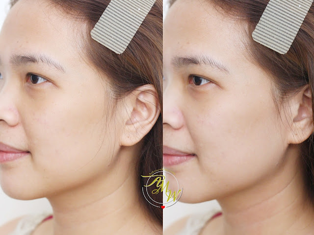 before and after photo of Kate Tokyo Makeup Lock Primer by Cover