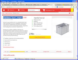 Stabil Plastback, model EURO