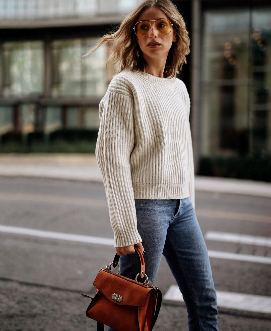 21 Chic Neutral Sweaters To Buy Right Now