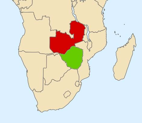 Northern and Southern Rhodesia (pre-1950)