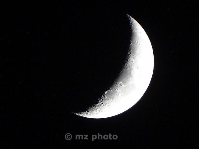foto alla luna