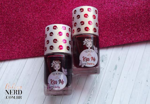 Embalagens de vidro do lip tint
