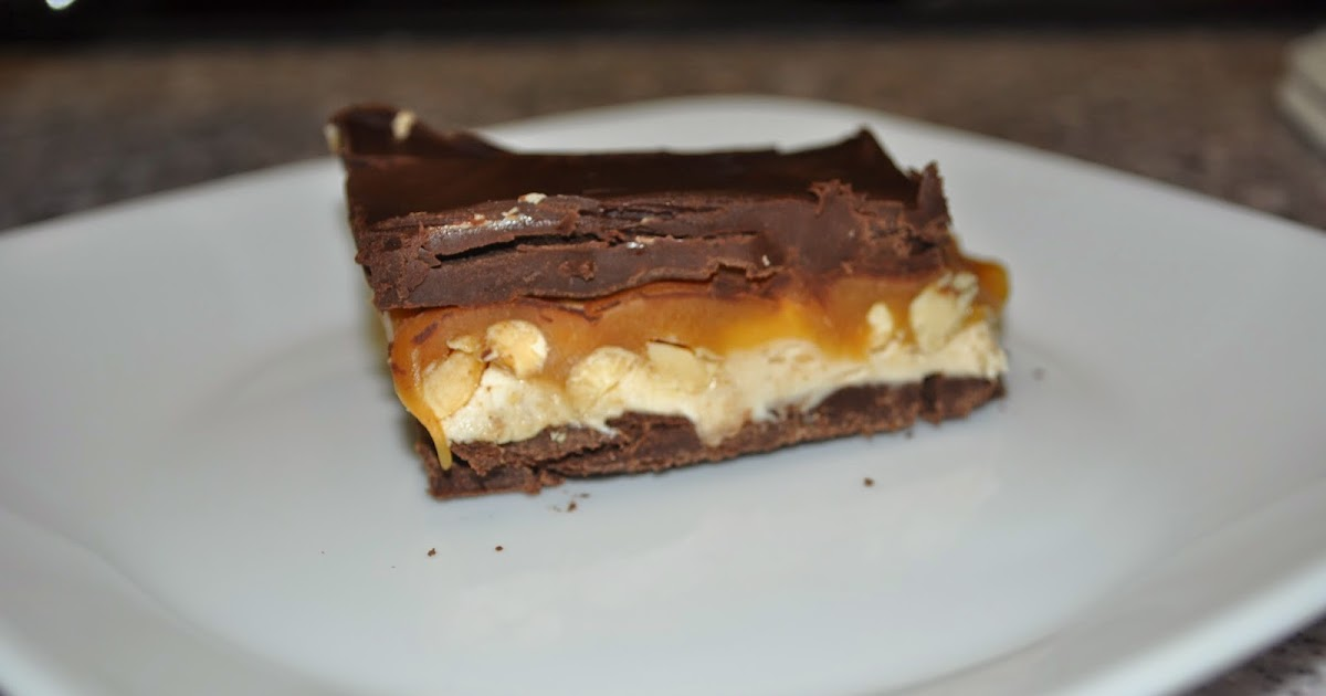 Beth S Favorite Recipes Homemade Snickers Bars