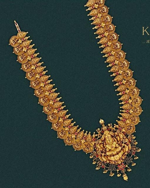 Lakshmi Long Haram by Krishna Jewels