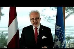 Inilah Pidato Presiden Latvia, Egils Levits Saat Berbicara di Debat Umum PBB ke 75
