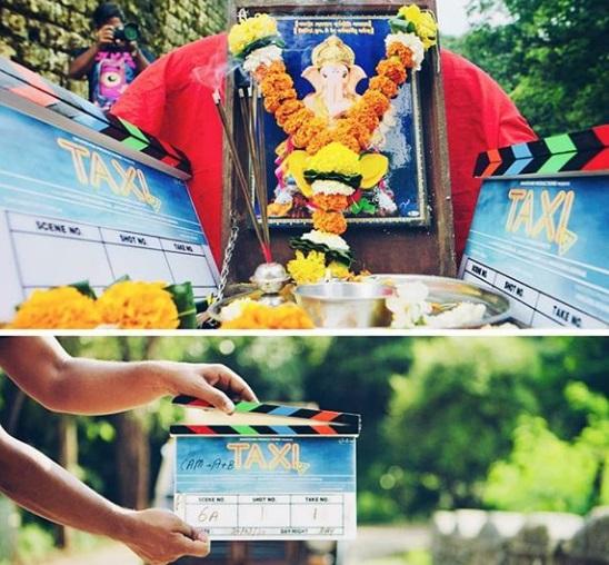 TaxiNo24 की शूटिंग शुरू, तस्वीरों में स्क्रीप्ट पढ़ते नजर आए महेश मांझरेकर