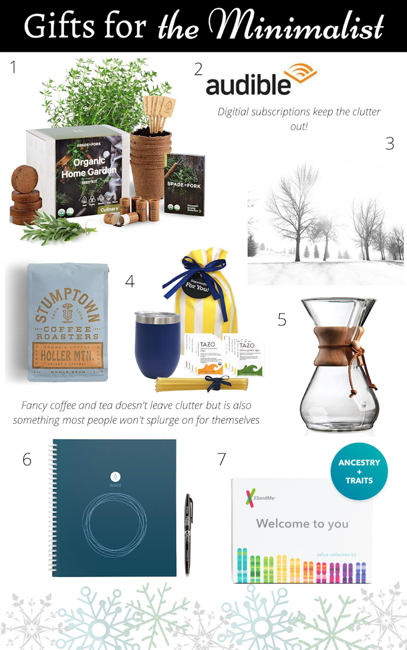 Gift Guide: for the Minimalist